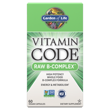 Load image into Gallery viewer, Garden of Life - Vitamin Code Raw B-Complex (60 ct / 30 servings) - $0.54/serving*