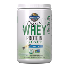 Load image into Gallery viewer, Garden of Life - Organic Whey Protein Vanilla 13.33oz (378g / 12 servings) Powder - $2.39/serving*
