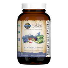 Load image into Gallery viewer, Garden of Life - mykind Organics Men's Once Daily Multivitamin Tablets (30ct / 30 servings) - $0.75/serving*
