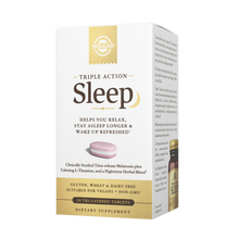 Load image into Gallery viewer, Solgar - Triple Action Sleep Tri-Layer Tablets (30ct / 30 servings) - $0.38/serving*