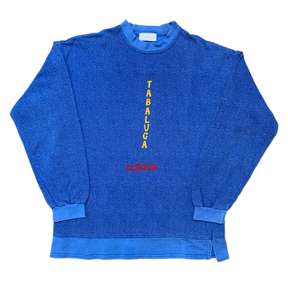 Vintage 1990s adidas X Tabaluga Crew Neck Pullover Jumper, Size S.