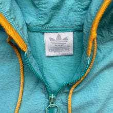Load image into Gallery viewer, Vintage 80s adidas Crocodile Beach 1/4 Zip Jacket, Size XL.
