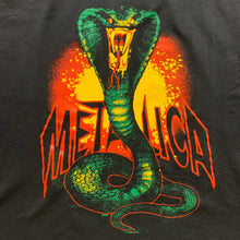 "Load image into Gallery viewer, Vintage 90s Metallica ""Cobra"" T-shirt, Size L."