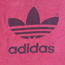 Load image into Gallery viewer, Vintage 80s adidas Trefoil Red Marl T-shirt, Size M.