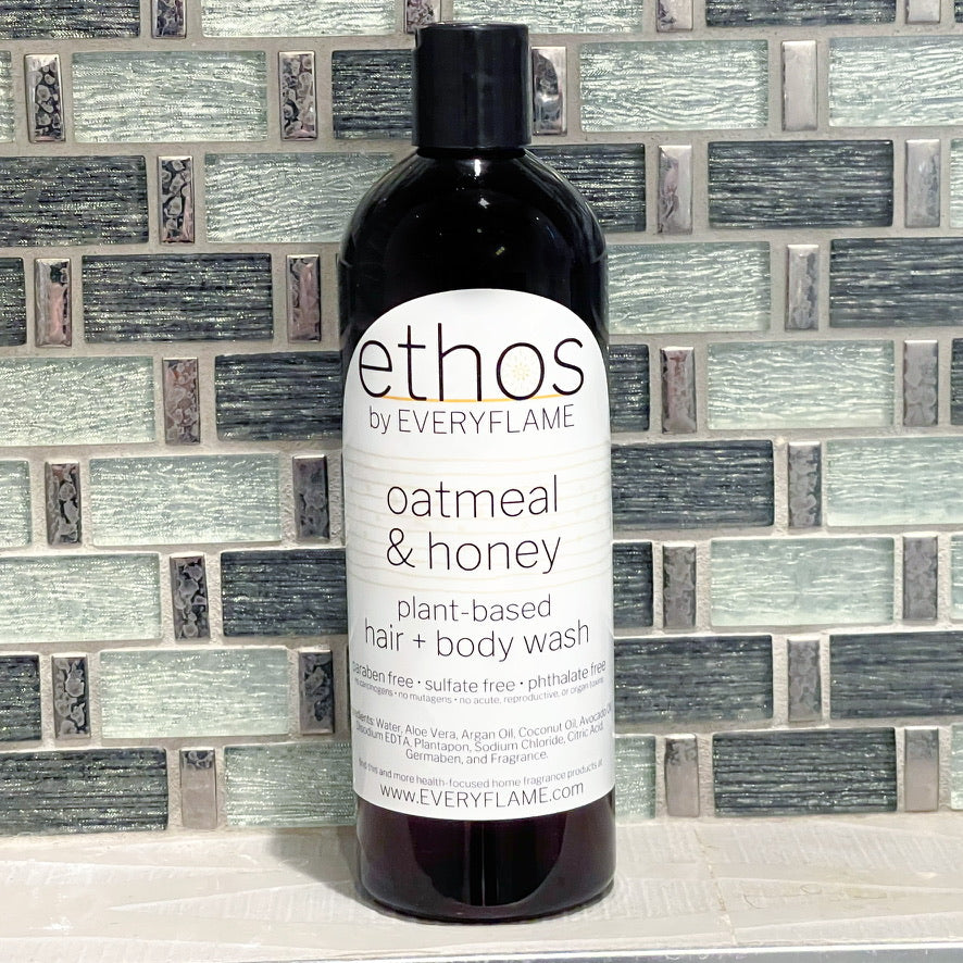 ethos Hair + Body Wash (Oatmeal and Honey)