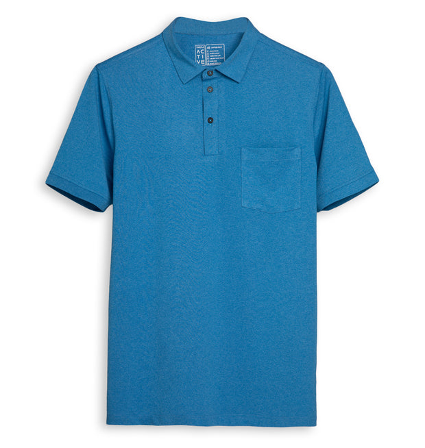 Scuba Half Sleeve Polo T-Shirt for Men