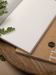 Think and Ink Notebook Pack of 2 - Khaki