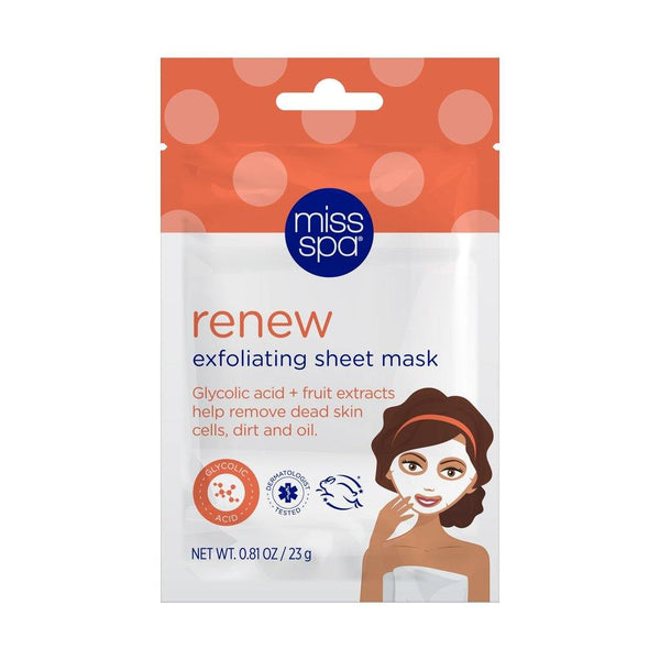 MISS SPA - Renew Exfoliating Sheet Mask - Miss Spa HK