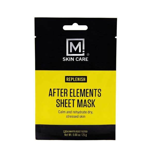 M. Skin Care - Replenish After Elements Sheet Mask - Miss Spa HK