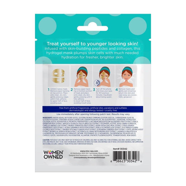 MISS SPA - Boost + Glow Hydrogel Facial Mask - Miss Spa HK