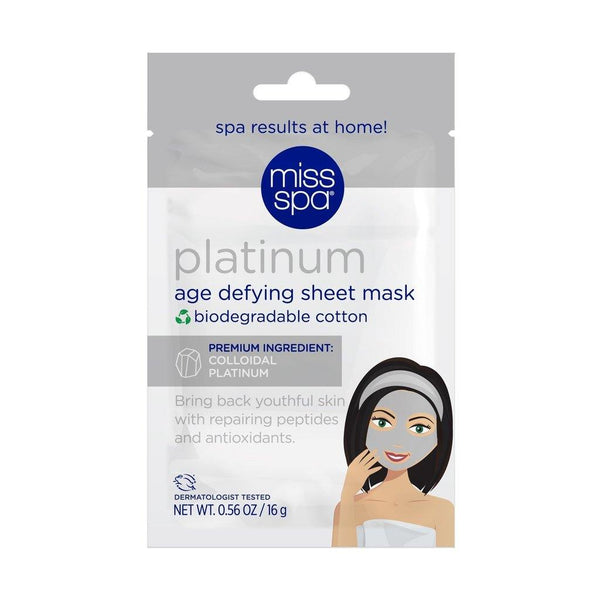 MISS SPA - Platinum Age Defying Sheet Mask - Miss Spa HK