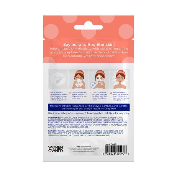 MISS SPA - #smoothAF Rejuvenating Sheet Mask - Miss Spa HK