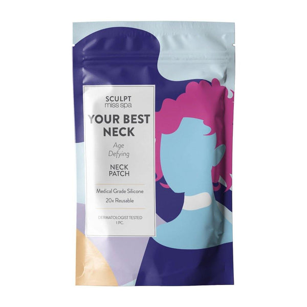 SCULPT - YOUR BEST NECK Age Defying Neck Patch - Miss Spa HK