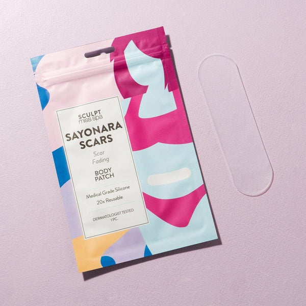 SCULPT - SAYONARA SCARS Scar Fading Body Patch - Miss Spa HK