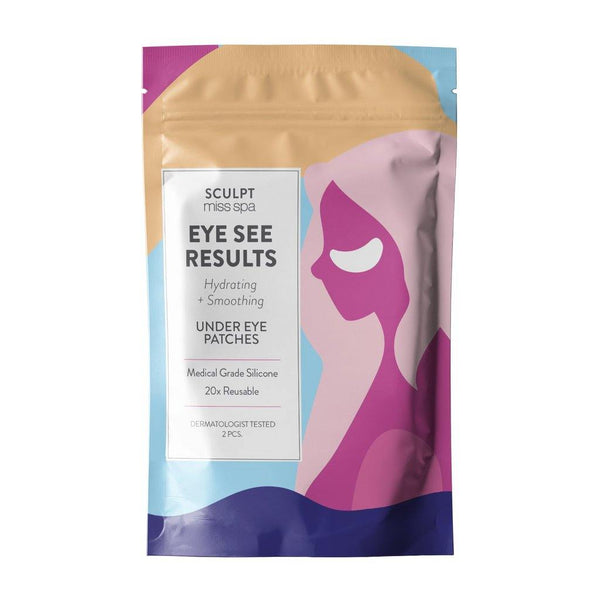 SCULPT - EYE SEE RESULTS Hydrating + Smoothing Under Eye Patches - Miss Spa HK