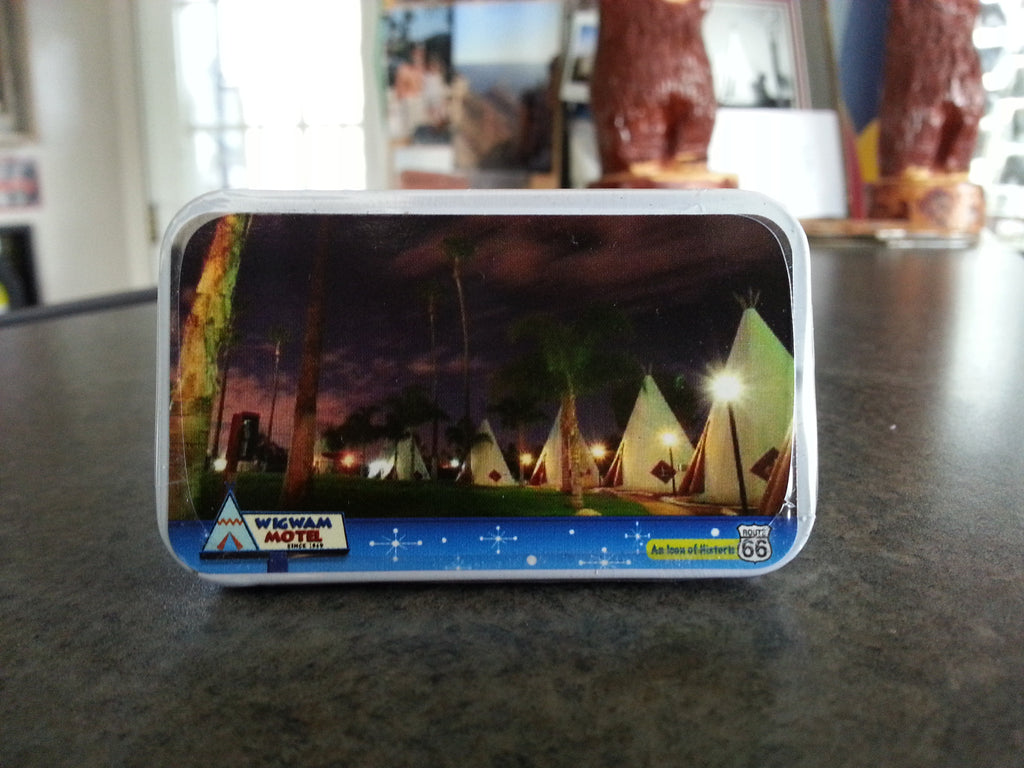 Wigwam Motel Mint Tin (with mints)