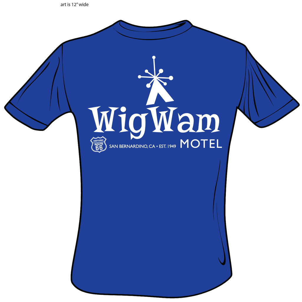 NEW Wigwam Motel T Shirt!!! PRE ORDER!!! Limited First Run!!