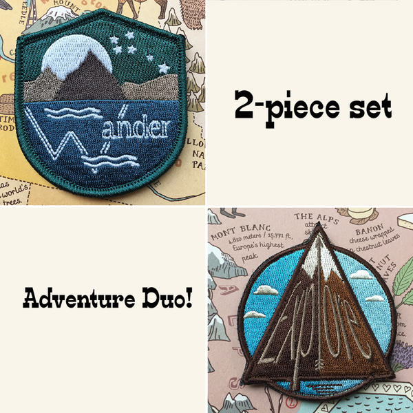 Spring Adventure Badge Duo