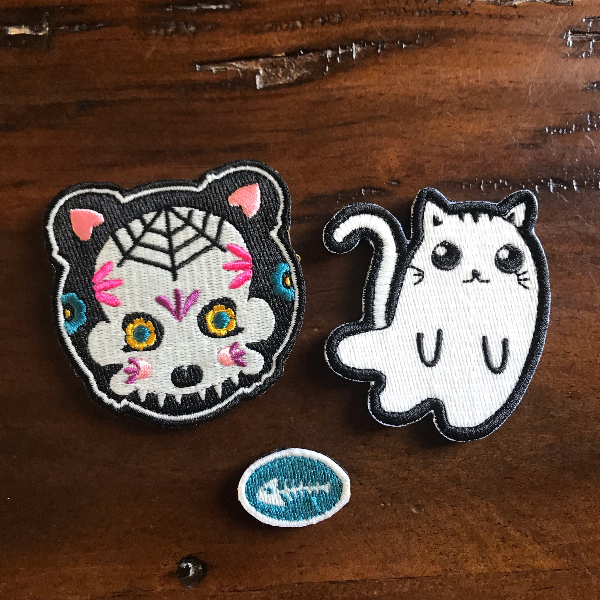 Spooky Cute Halloween Badge Set