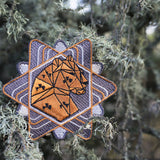 Save the Critters Amur Leopard Badge - Star