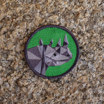 STC - Black Rhino Badge - Individual badge