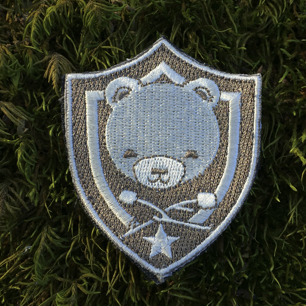 Cub & Star - Gray Shield Badge