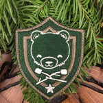 Cub & Star - Hunter Green Shield Badge