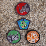 Save the Critters Badge Pack