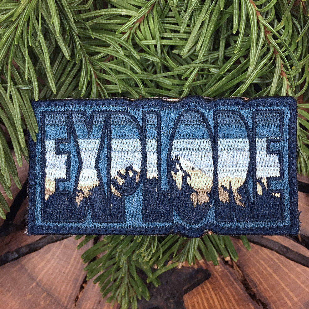 Explore Badge - Mountain Range