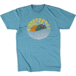 Hawksbill Turtle - Sunset Edition Tee - Kids