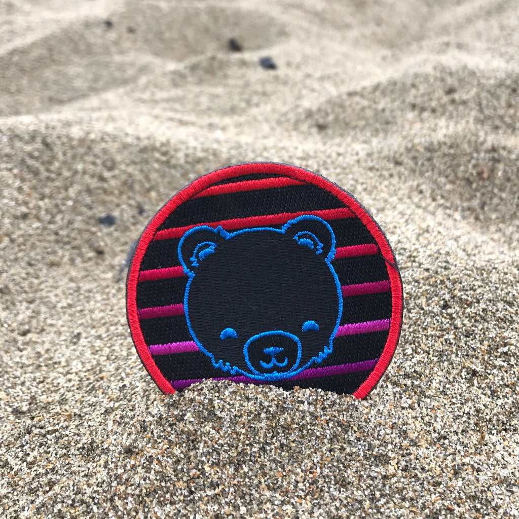 Retro Stripe Cub Badge