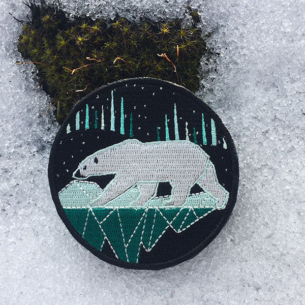 Save the Critters Polar Bear Badge