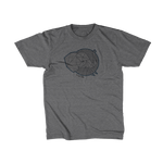 Save The Critters African Elephant Kids Tee - Granite Gray