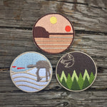Three Planets Badge Set - 2018 May the 4th Tribute Badges