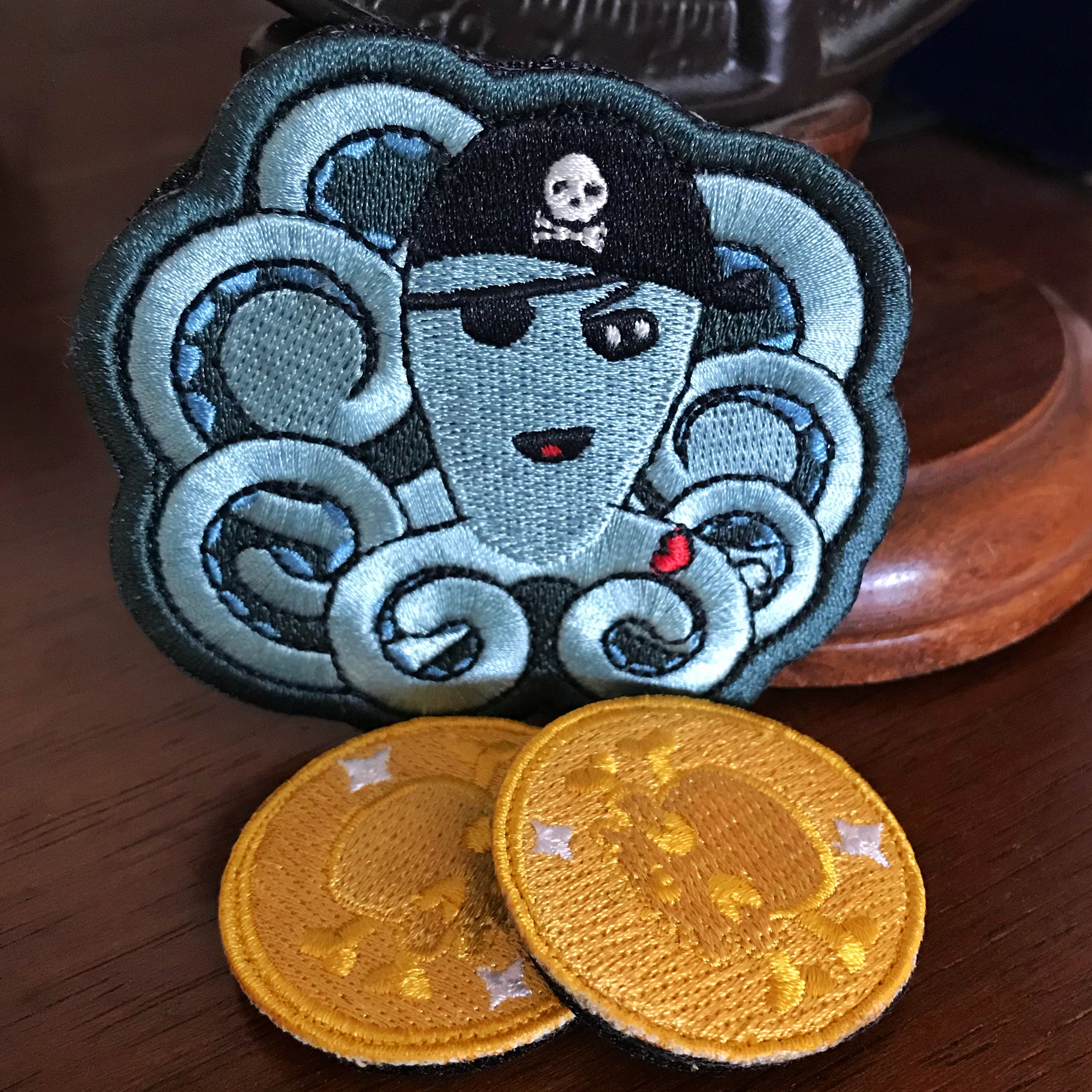2018 Int'l Talk Like a Pirate Badge Collection