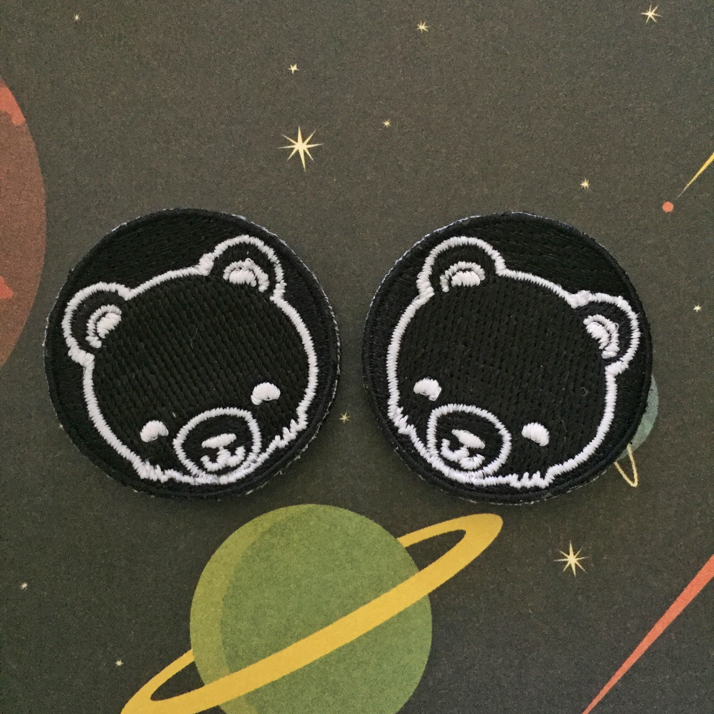 Cub Eyes - Black (glow-in-the-dark)