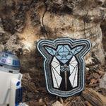 Yoda Force Ghost Glow in the Dark Badge