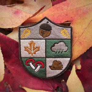 Autumn Crest Badge