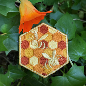 Golden Honeycomb Badge - Summer 2019