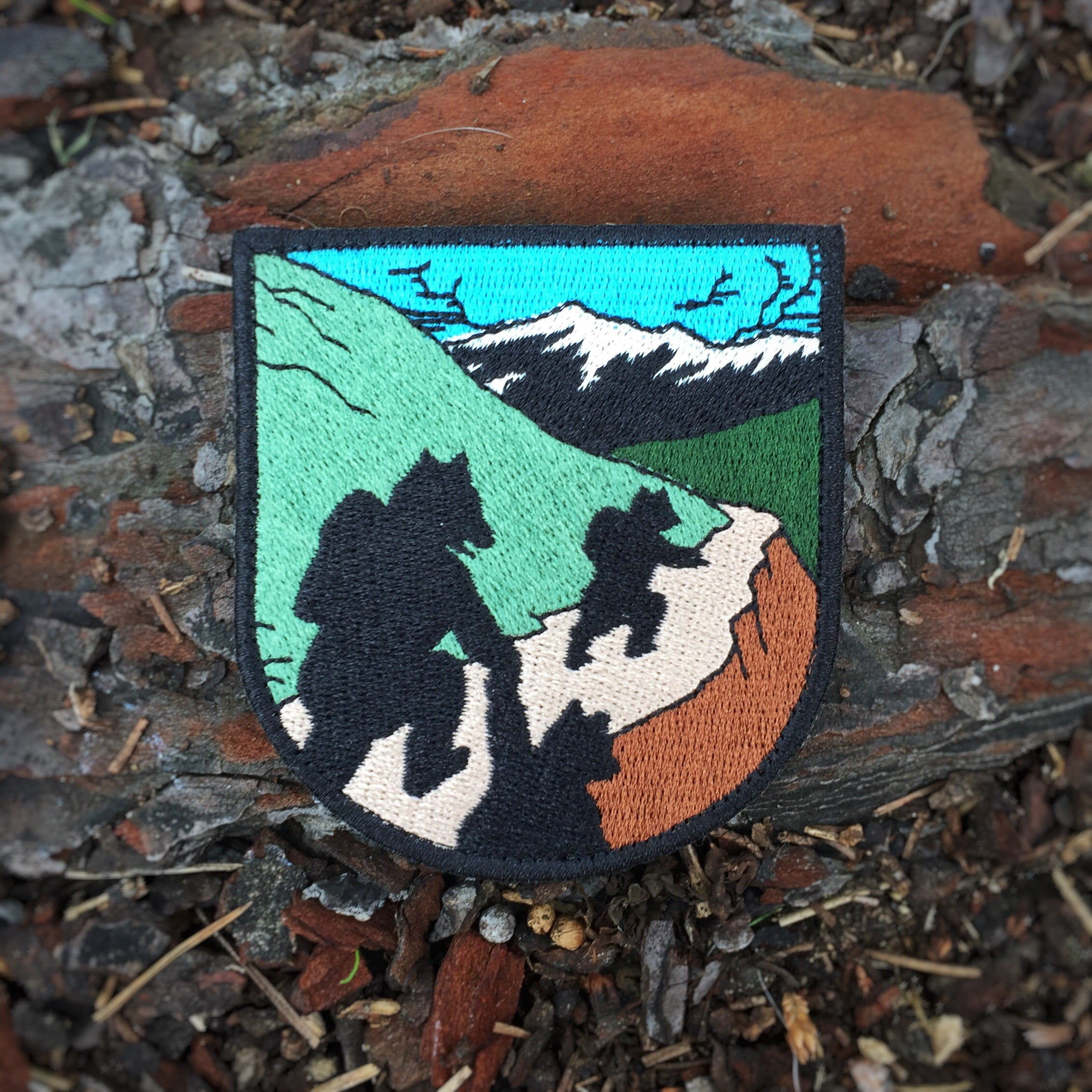 """On The Trail"" Badge"