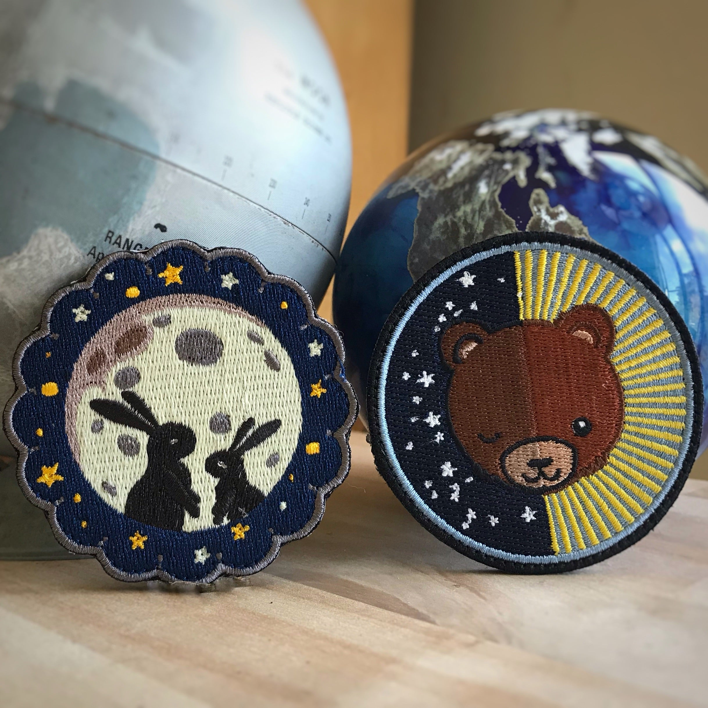 Autumn Moon Badge Collection