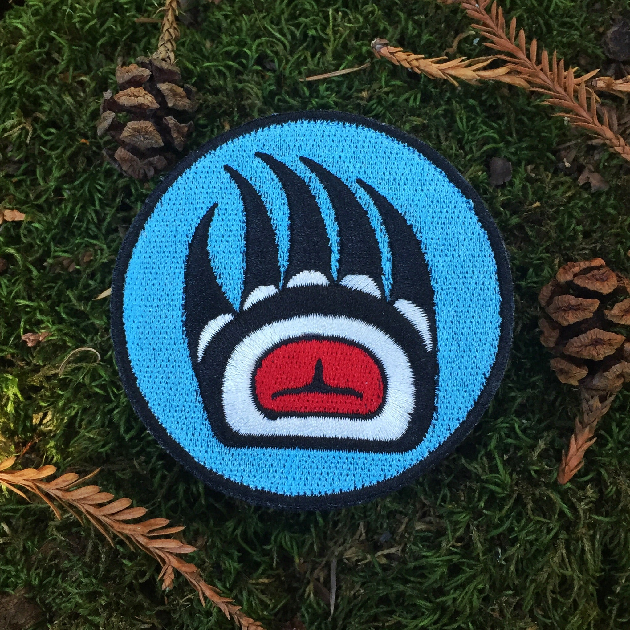 Bear Paw Badge