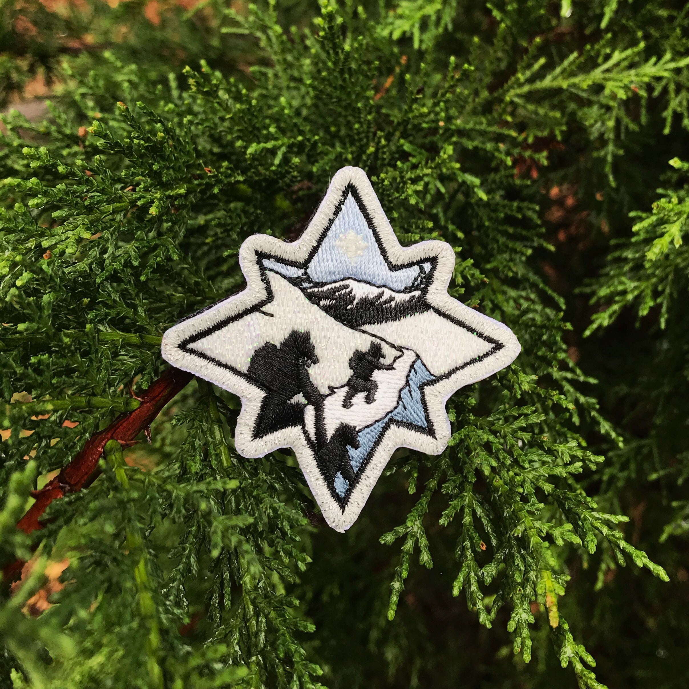 Winter Wonderland Badge (GLOW!!)