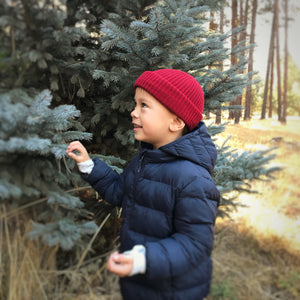 2019 Winter Collection Watch Cap Mini - Merino Wool Kids Beanie