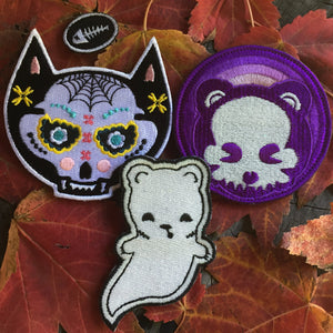 Spooky Bunch Badges