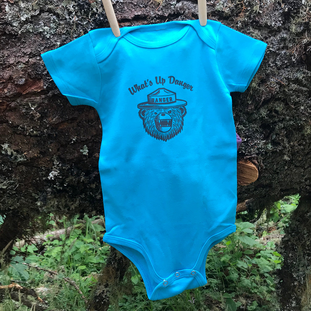 What's Up, Danger - DRB baby onesies