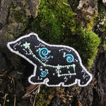 Ursa Minor badge - mini mirrored version