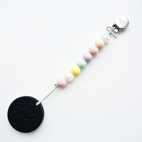 Cookie Teether w/Cotton Candy Clip