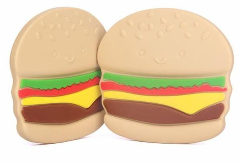 Burger Silicone Teether - SINGLE