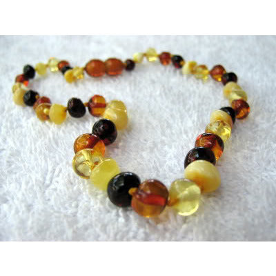 Inspired by Finn Baltic Amber Necklace [4 different] - Lil Tulips
